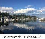vancouver canada lake scenery.... | Shutterstock . vector #1106553287
