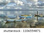 Fishing Boats In The Estuary O...
