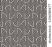 vector seamless pattern with... | Shutterstock .eps vector #1106580677
