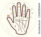 vector horizontal illustration... | Shutterstock .eps vector #1106583644