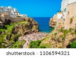 view of the beach lama... | Shutterstock . vector #1106594321