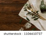 Wedding Rings And Table Cutler...
