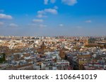 aerial view from the top of... | Shutterstock . vector #1106641019