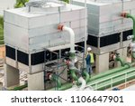 cooling tower at construction...   Shutterstock . vector #1106647901