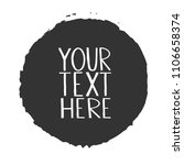 grey text background. grunge... | Shutterstock .eps vector #1106658374