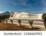 statue of sleeping buddha at... | Shutterstock . vector #1106662901