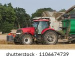 tractor   agricultural... | Shutterstock . vector #1106674739
