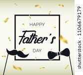 father s day   template for... | Shutterstock .eps vector #1106679179