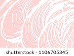 grunge texture. distress pink...   Shutterstock .eps vector #1106705345