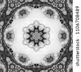 Pretty Monochrome Mandala ...