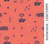 cute pattern for kids. | Shutterstock .eps vector #1106715095