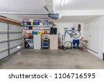 organized clean suburban... | Shutterstock . vector #1106716595