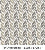 geometric leaves vector... | Shutterstock .eps vector #1106717267