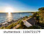 sunset evening landscape photo...   Shutterstock . vector #1106721179