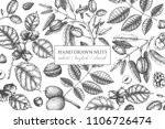vector design with hand drawn... | Shutterstock .eps vector #1106726474