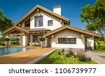 3d rendering of modern cozy... | Shutterstock . vector #1106739977