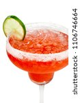 closeup of a beautiful red... | Shutterstock . vector #1106746664