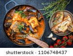 traditional french corsican... | Shutterstock . vector #1106748437