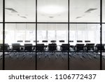 meeting boardroom in high class ... | Shutterstock . vector #1106772437