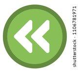 directional left arrow with... | Shutterstock .eps vector #1106781971