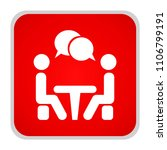 conference icon. people sitting ... | Shutterstock .eps vector #1106799191