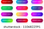 set of bright colorful order... | Shutterstock .eps vector #1106822591