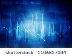 2d rendering stock market... | Shutterstock . vector #1106827034