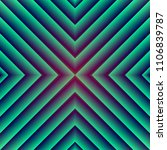 trendy gradient pattern.... | Shutterstock .eps vector #1106839787
