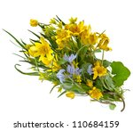Bouquet Of Wild Flowers On A...