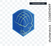 atlas vector icon isolated on... | Shutterstock .eps vector #1106854049