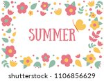 vector illustration with... | Shutterstock .eps vector #1106856629