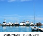 a sailboat  yachts and...   Shutterstock . vector #1106877341