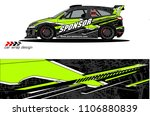 car graphic background vector....   Shutterstock .eps vector #1106880839