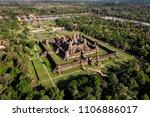 Aerial View Of Angkor Wat...