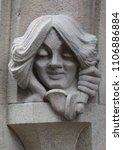 The Sculpture Of The Head Of A...