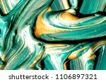 oil painting with golden paint. ... | Shutterstock . vector #1106897321
