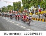 paris  france   july 23  2017 ... | Shutterstock . vector #1106898854