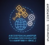 news studio neon light concept... | Shutterstock .eps vector #1106908349
