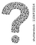 answer composition created with ... | Shutterstock .eps vector #1106910014