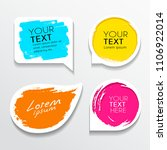 tag label brush stroke colorful ... | Shutterstock .eps vector #1106922014