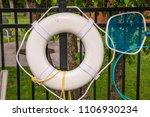 life ring buoy preserver...   Shutterstock . vector #1106930234