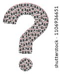 question figure made with...   Shutterstock .eps vector #1106936651