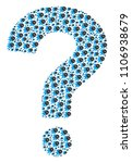 question figure constructed... | Shutterstock .eps vector #1106938679