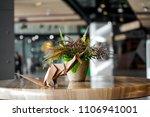 brown kangaroo paper folding... | Shutterstock . vector #1106941001