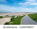 north sea cycle route | Shutterstock . vector #1106948027