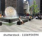 new york city  usa   may 9 ... | Shutterstock . vector #1106954594