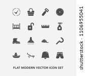 modern  simple vector icon set... | Shutterstock .eps vector #1106955041