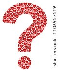 question mark collage... | Shutterstock .eps vector #1106957519