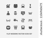 modern  simple vector icon set...   Shutterstock .eps vector #1106960675