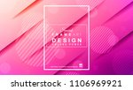 abstract geometric colorful... | Shutterstock . vector #1106969921